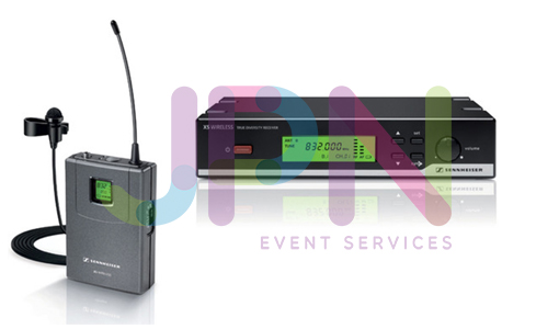 Sennheiser XSW 35 Lapel Wireless Microphone Hire