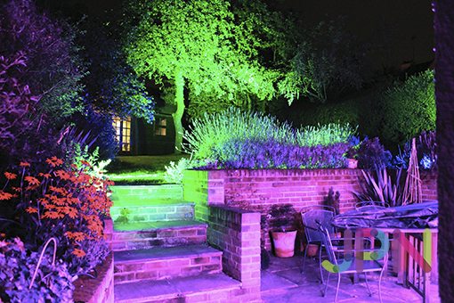 Outdoor architectural lighting building illumination hire essex outdoor lighting hire essex aloadofball Image collections